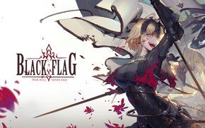 Picture Flag, The saber, Joan of arc, Fate / Grand Order, The destiny of a great …
