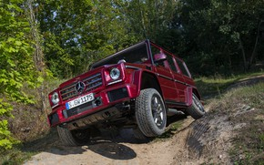 Picture Mercedes-Benz, SUV, the front, G500, G-Class, 2015, G 500, V8 Biturbo
