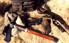 Picture Rifle, Weapon, Hatchet