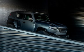 Picture SUV, Tank, in the shadows, Rezvani, 2020