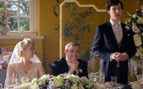 Picture wedding, Martin Freeman, Benedict Cumberbatch, Sherlock, Sherlock BBC, Sherlock Holmes, John Watson, Sherlock (TV series), ...