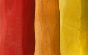 Picture colors, colorful, red, yellow, wood, orange, textures, paint, boards, 4k hd background