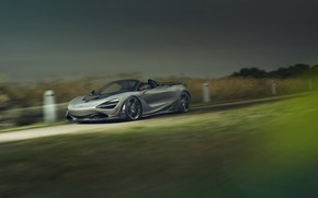 Picture McLaren, speed, supercar, Spider, Novitec, 720S, 2019