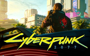 Picture The city, The game, CD Projekt RED, Cyberpunk 2077, Cyberpunk, Cyberpunk, Cyberpunk 2077, 2077, Video …