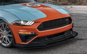 Picture Mustang, Ford, front view, Roush, 2019, Performance Stage 3