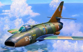Picture fighter-bomber, Michal Reinis, The French air force, Dassault Super Mystere B.2