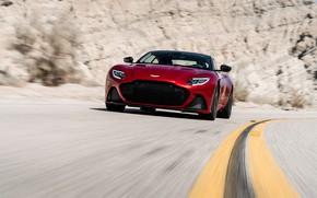 Picture Aston Martin, speed, DBS, Superleggera, 2018