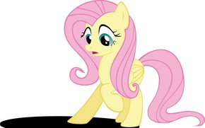 Picture shadow, girl, pony, My Little Pony, pink mane