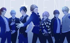 Picture group, anime, art, guys, Uta no Prince-sama