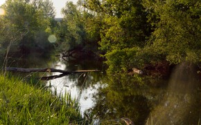 Picture nature, river, the air, nature of Russia, the nature of the world, mother nature, nature …