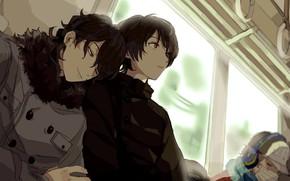 Picture train, guys, Ensemble Stars!, Sakuma Ritsu, Redlips0131, Sakuma Rei
