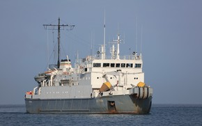 Picture ship, small, кабельный