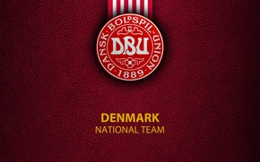 Picture wallpaper, sport, logo, football, Denmark, National team