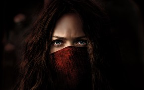 Wallpaper Girl, Action, Red, Fantasy, Blue, Warrior, Female, Eyes, year, 2018, Women, Game, Woman, Valentine, Mortal, ...