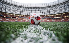 Picture The ball, Sport, Football, Russia, Russia, Adidas, 2018, Stadium, World Cup, FIFA, FIFA, Luzhniki, Cup, …