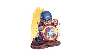 Picture Marvel, Derek Laufman, Capitan American