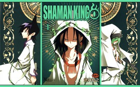 Picture collage, characters, Shaman king, Shaman king