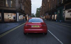Picture Street, England, Audi RS6, Forza Horizon 4