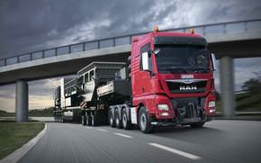 Picture MAN, TGX, 640, heavy load