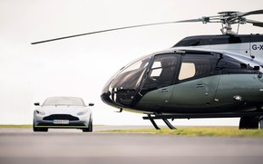 Picture Aston Martin, Aston Martin, helicopter, ACH130 Aston Martin Edition, VIP-helicopter, Stirling Green, Airbus Corporate Helicopters