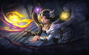 Picture Girl, Style, Girl, Magic, Light, Fantasy, Art, Art, MAG, Style, Fiction, Fiction, Game, Magic, Mage, …