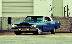 Picture Plymouth, Convertible, Hemi, Road Runner, 440 Six Pack