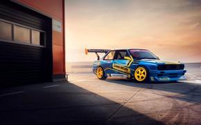 Picture BMW, Drift, Machine, E30