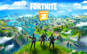 Picture Chapter 2, Epic Games, Fortnite, 2019