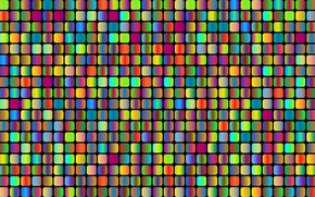 Picture Color, Squares, Background, Color, Rounded squares, Psycho