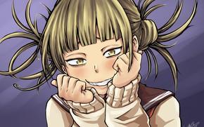 Picture girl, smile, My Hero Academia, Boku No Hero Academy, My heroic academia