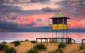 Picture Australia, New South Wales, спасательная вышка