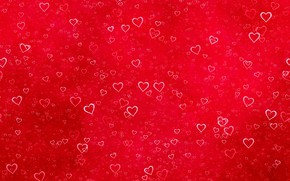 Picture red, texture, hearts