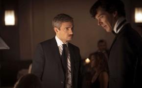 Picture Sherlock Holmes, Martin Freeman, Benedict Cumberbatch, still from the film, Sherlock, Sherlock BBC, Sherlock Holmes, …