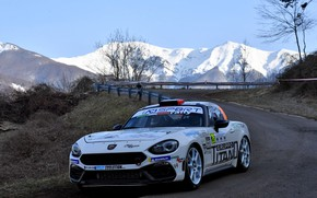 Picture road, tops, rally, 2018, Abarth, 124 Rally