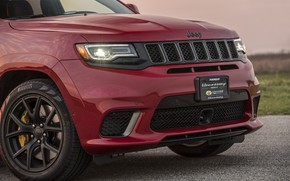 Picture lights, 2018, Hennessey, Jeep, Grand Cherokee, Trackhawk, HPE1000