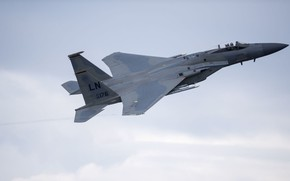 Picture Eagle, UNITED STATES AIR FORCE, Single, the fourth generation, McDonnell Douglas, F-15C, fighter superiority in ...