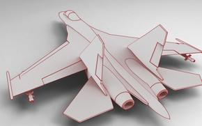 Picture fighter, su-27, su27