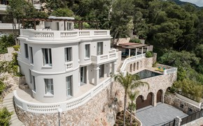 Picture the city, Villa, pool, Monaco, Villa in Monaco