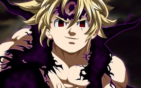 Picture guy, Nanatsu no Taizai, The seven deadly sins, Melides