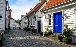 Picture Norway, Stavanger, Street, Home, The city