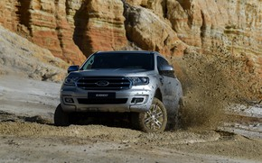 Picture Ford, dirt, SUV, Everest, 4WD, XLT, 2019
