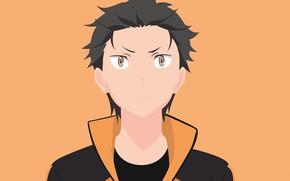 Picture guy, From scratch, Re: Zero Kara Hajime Chip Isek Or Seikatsu, Natsuki Subaru