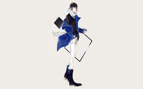Picture style, guy, by shiroiyan