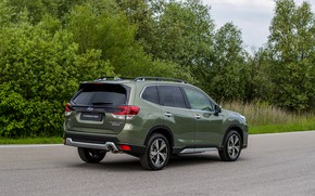 Picture Subaru, side, crossover, AWD, Forester, 2019