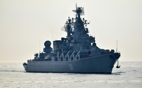 Picture the evening, Moscow, cruiser, The black sea