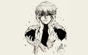 Picture background, guy, Tokyo ghoul