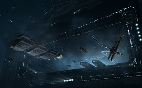 Picture station, Space, space, spaceship, eve online, space ship, coooper