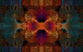 Picture pattern, divorce, fractal, square