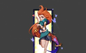 Picture girl, League of Legends, League Of Legends