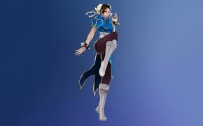 Picture Girl, Game, Street Fighter, Chun-Li, Esteban Barrientos, Character